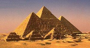 Chefren-Pyramide, Cheops-Pyramide und Mykerinos-Pyramide