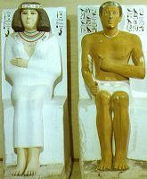 Rahotep and Nofretete