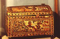 Gilded Wooden Chest